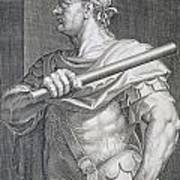 Flavius Domitian Print by Titian
