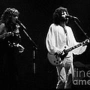 Fleetwood Mac In Amsterdam 1977 Art Print