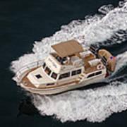 Fleming Yacht's Corvette Art Print