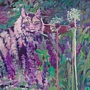 Fletcher's Garden Art Print