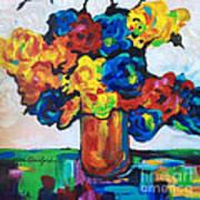 Fleurs De Vigne Art Print