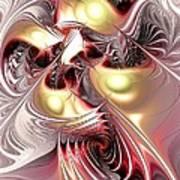 Flight Of The Phoenix Art Print by Anastasiya Malakhova