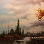 Flight Of The Swan 2 Art Print