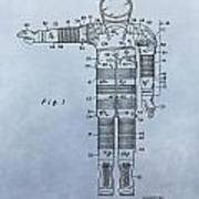 Flight Suit Patent Art Print