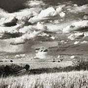 Flint Hills Prairie Art Print