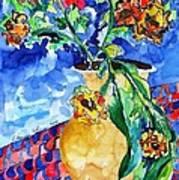 Flip Of Flowers Art Print