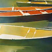Floaters Art Print by Kris Parins