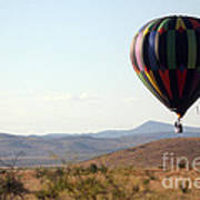 Floating Down The Hill Art Print
