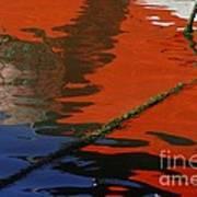 Floating On Blue 26 Art Print
