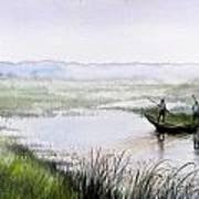 Floating On The Mist... Art Print