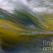 Floating River 2 Art Print