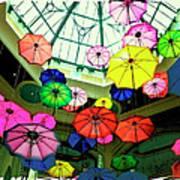 Floating Umbrellas In Las Vegas  Art Print