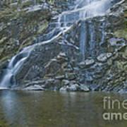 Flood Falls II Art Print