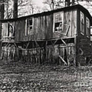 Flood House In Mississippi Delta Art Print