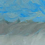 Flooding At Lone Pine Art Print