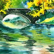 Floods R Art Print