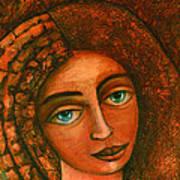 Flora Closer Art Print