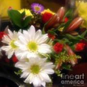 Flora Radiant Art Print