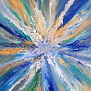 Star Bursting Art Print
