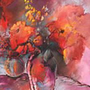 Floral 01 Art Print by Miki De Goodaboom