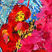 Floral Abstract Part 1 Art Print