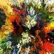 Floral Art Xiv Art Print