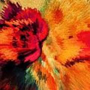 Floral Art Xxi Art Print