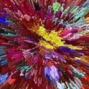 Floral Art Xxiv Art Print