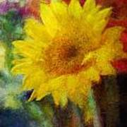 Floral Art Xxxvi Art Print
