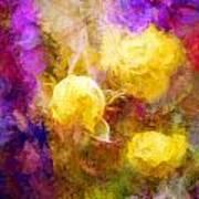 Floral Art Xxxxv Art Print