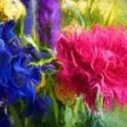 Floral Art Xxxxvi Art Print