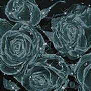 Floral Constellations Art Print