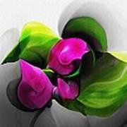 Floral Expression 111213 Art Print