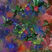 Floral Fantasy 010413 Art Print