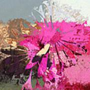 Floral Fiesta - S33ct01 Art Print