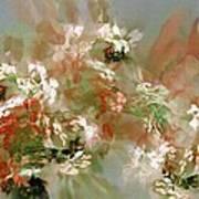 Floral Fractal 030713 Art Print