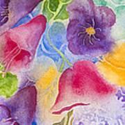 Floral Glory Dos Art Print