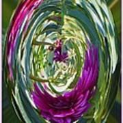 Floral Illusion 1 Art Print