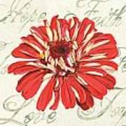 Floral Inspiration 1 Art Print