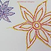 Floral Joy  Art Print