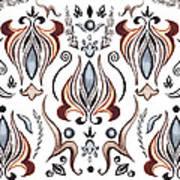 Floral Pattern I Art Print