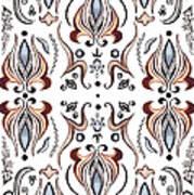 Floral Pattern IIi Art Print