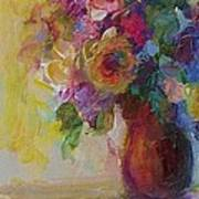 Floral Still Life Art Print by Mary Wolf