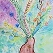 Floral Stream Art Print