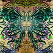 Floral Synapse 2 Art Print