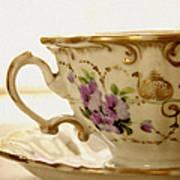 Floral Tea Art Print