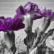 Floral Texture  Art Print