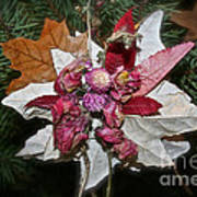 Floral Tree Ornament Art Print