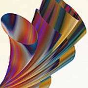 Floral Trumpets Art Print