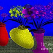 Floral Wonders Art Print